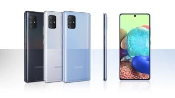 Смартфон Samsung Galaxy A71 5G SD765G