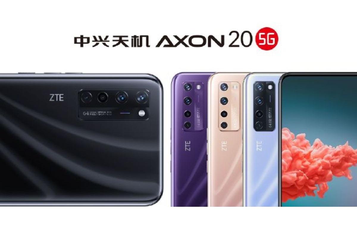 Всё о смартфоне Известны цвета ZTE Axon 20 5G и дата анонсирования: где купить, цены, характеристики