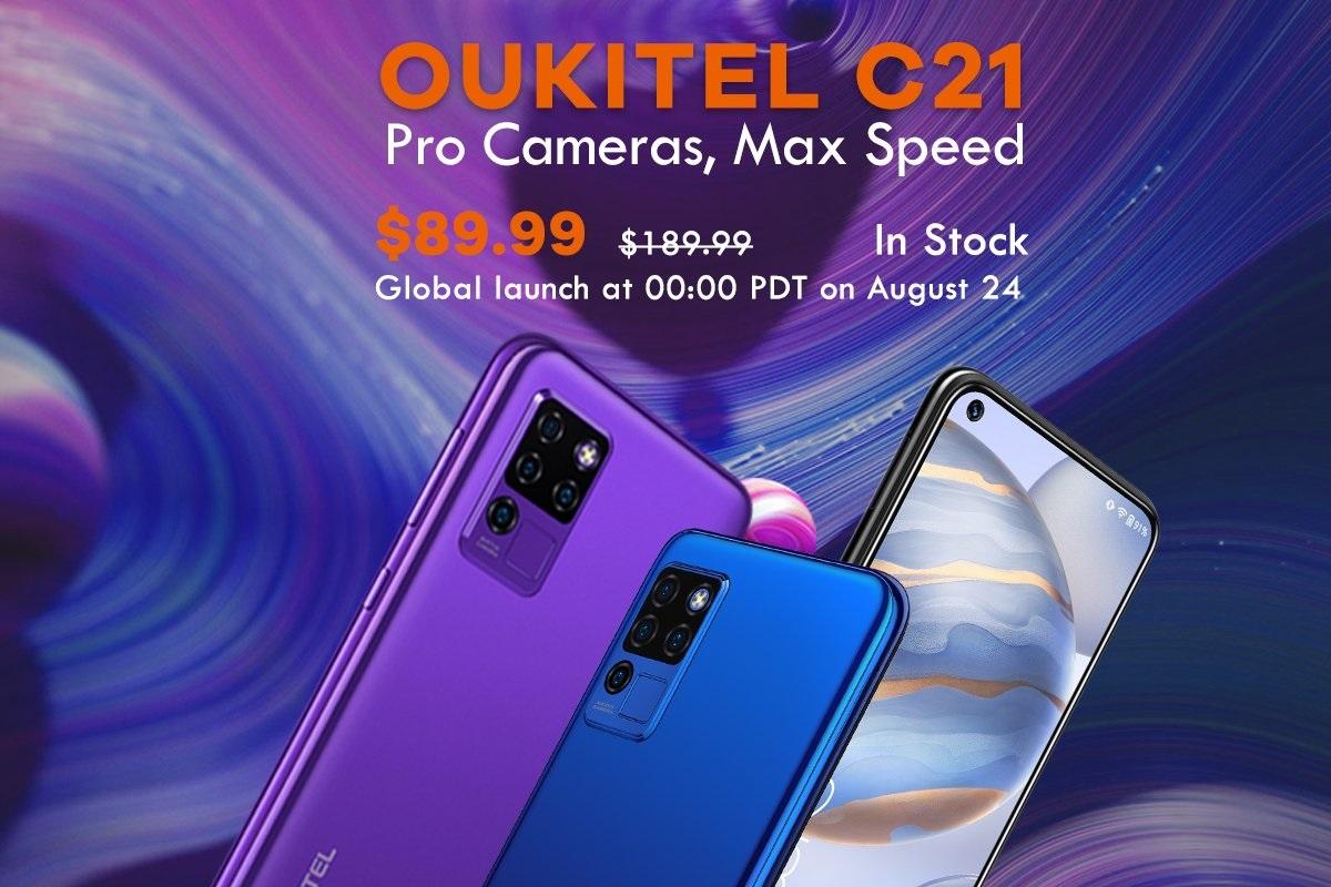 Всё о смартфоне 24 августа начнутся продажи Oukitel C21: что нам предложат по цене $89,99: где купить, цены, характеристики