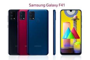 Всё о смартфоне Дата выхода Samsung Galaxy F41 — 8 октября: где купить, цены, характеристики